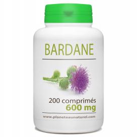 Bardane Racine 600 mg - 200 comprimés
