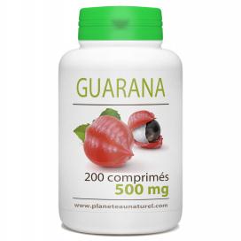 Guarana - 500 mg - 200 comprimés