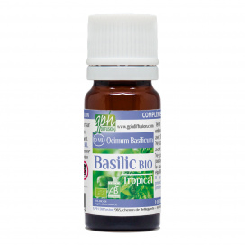 Huile essentielle de Basilic Tropical Bio